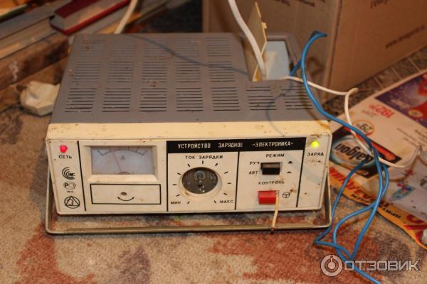 Зарядное устройство электроника для автомобильного аккумулятора