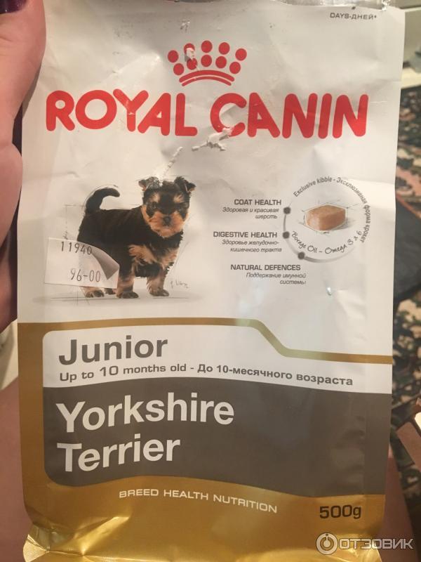 Корм royal canin для той терьеров