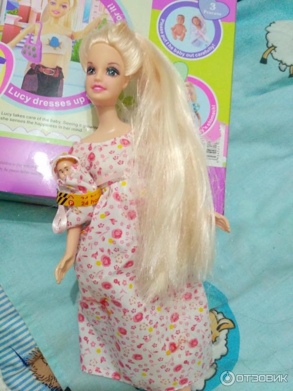 Кукла defa lucy беременная кукла 26