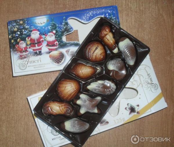 Шоколадные конфеты с начинкой рецепт