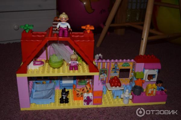 Лего кукольный домик отзывы