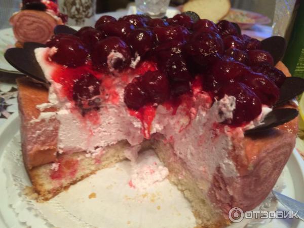 Торт лесная ягода фото