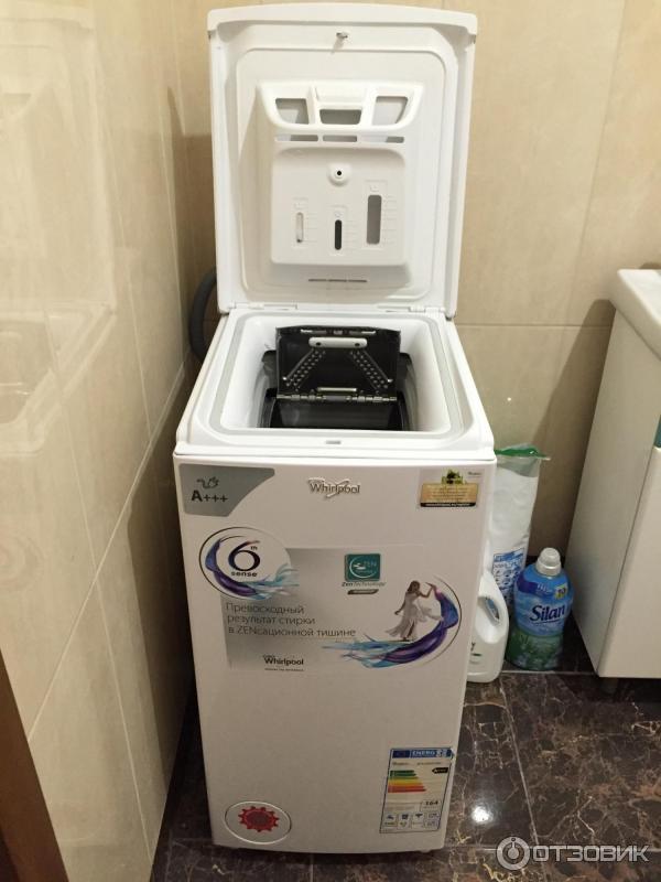 Отзыв о Стиральная машина Whirlpool WTLS 65912 ZEN Отличная стиральная машина, минимум шума