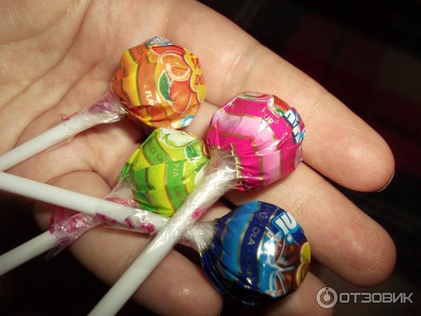 Как сделать конфеты на палочке для детей