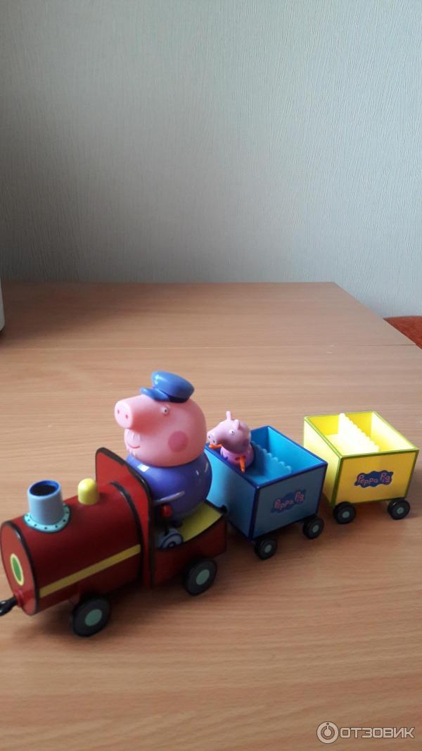 свинка пеппа паровозик дедушки свина серия
