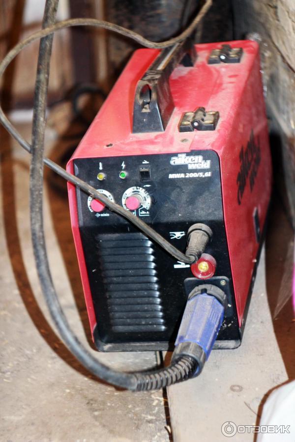 Инверторный сварочный аппарат не варить