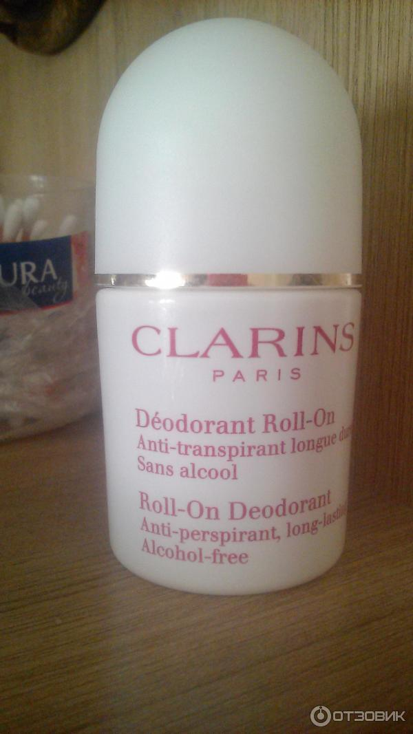 Дезодорант clarins отзывы