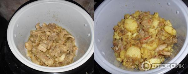 Плов из свинины в мультиварке поларис 0517 рецепты с фото