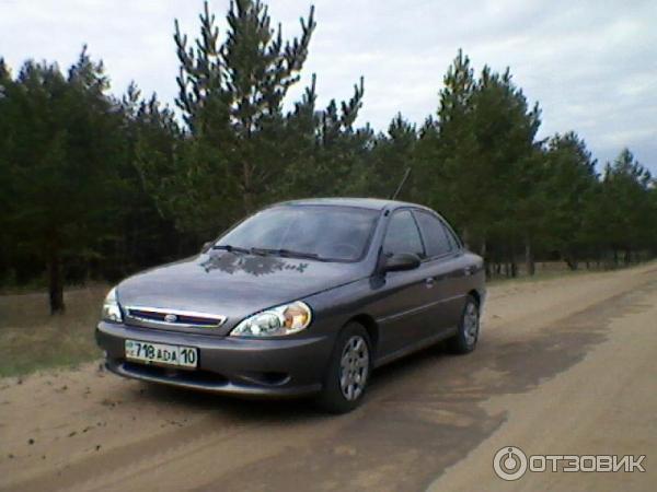 kia rio 2002 года фото