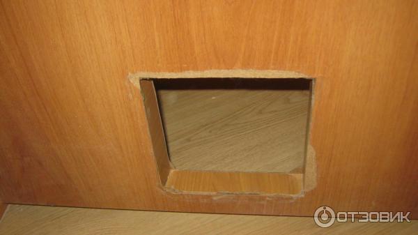 Врезная дверца для кошек конструкция