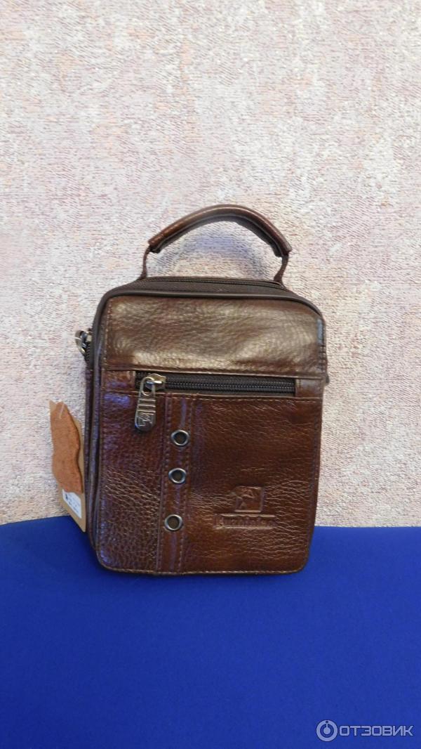 598690e9d28c Отзыв о Мужская сумка-барсетка FUZHINIAO | Помещается всё необходимое.