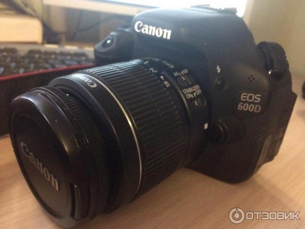 Фотокамера canon eos 600d kit (на гарантии)