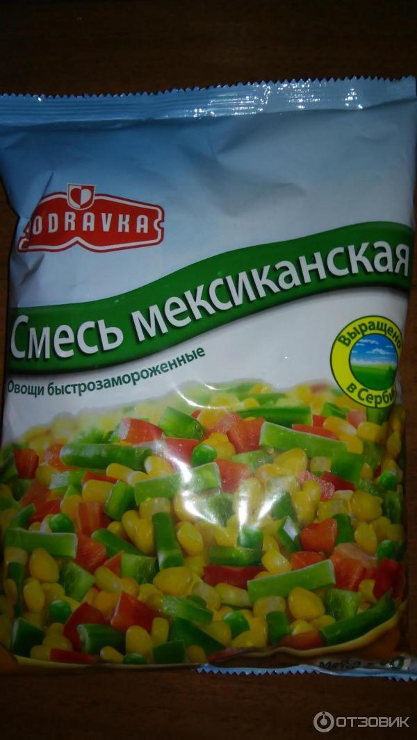 Смесь овощей замороженных рецепт с фото