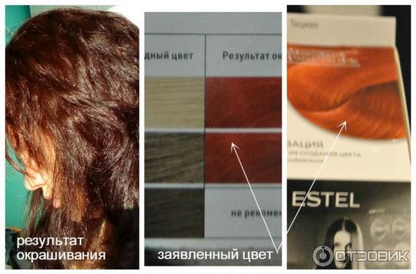 Покрасить волосы безаммиачной краской