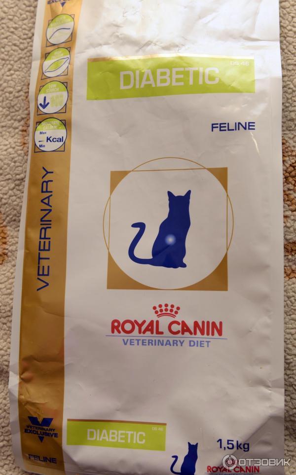 Роял канин для кошек с диабетом