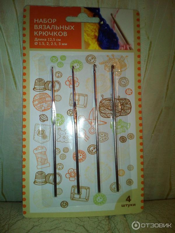Самые ходовые размеры крючков для вязания 78