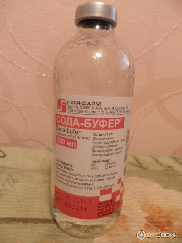 сода буфер инструкция для ингаляций детям цена