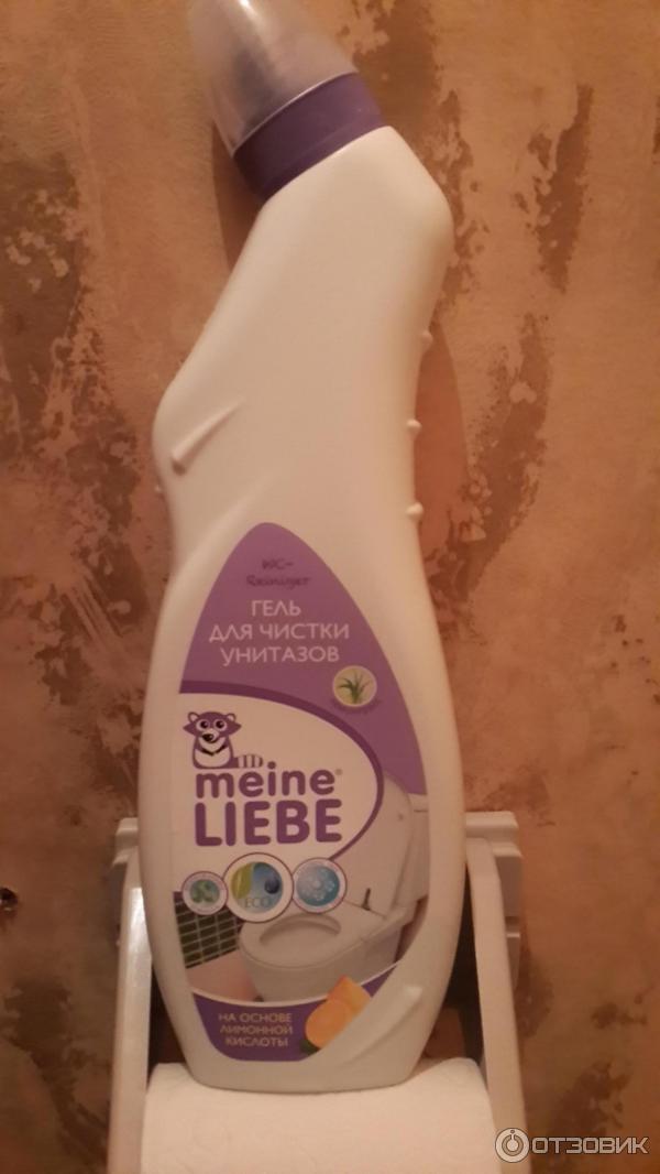 Средство для чистки унитазов Meine Liebe фото