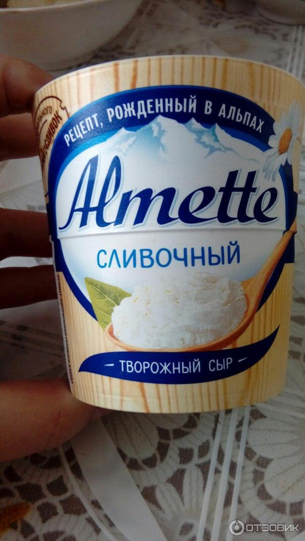 Как в домашних условиях приготовить сыр альметте 217