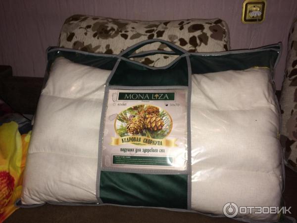 Подушка Кедровая скорлупа
