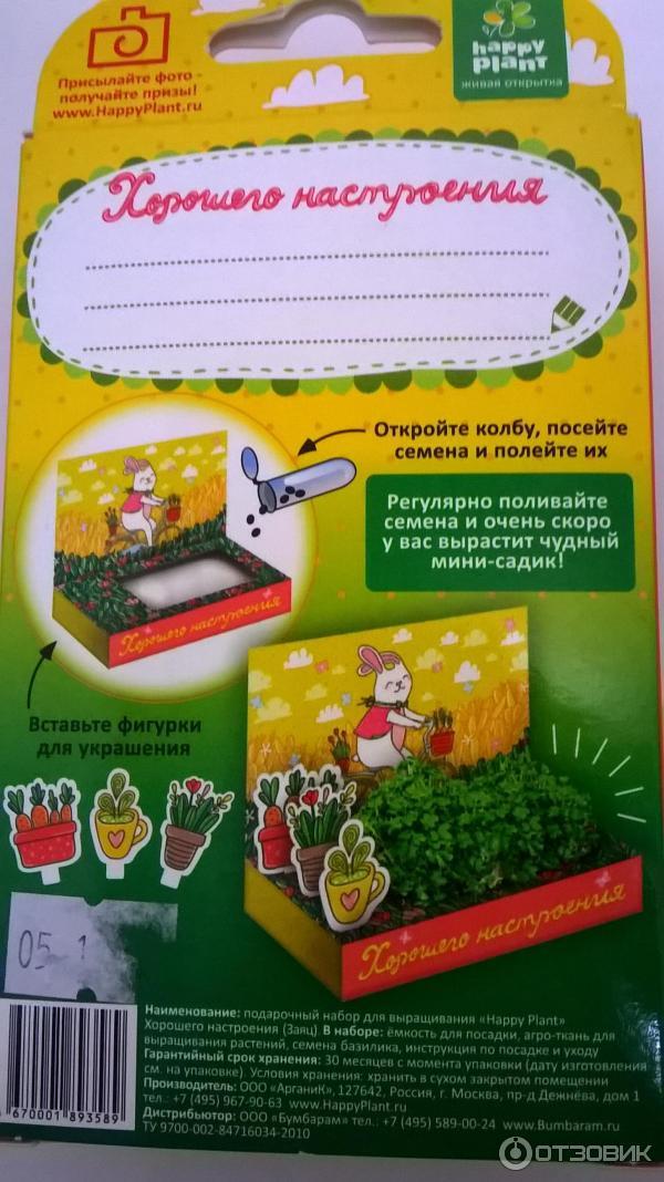 Подарочный набор для выращивания 871