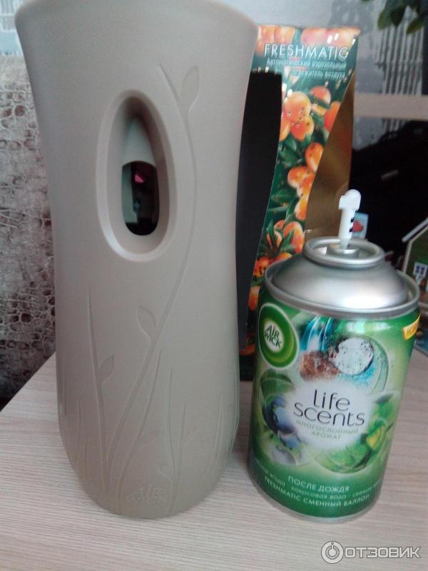 Автоматический ароматизатор воздуха air wick инструкция.