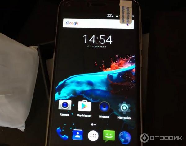 Новый защищенный смартфон umi london