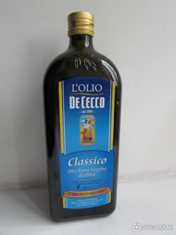 Масло de cecco оливковое нерафинированное