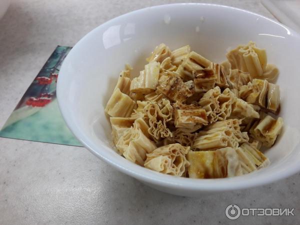 Рецепт приготовления салата из соевой спаржи с
