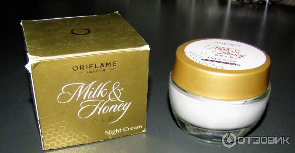 Ночной крем молоко и мед орифлейм отзывы