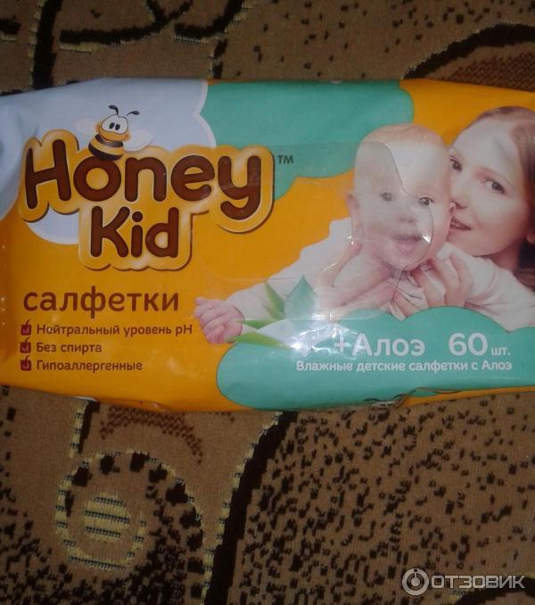 Влажные салфетки honey kid отзывы