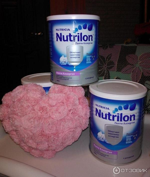 Нутрилон пепти аллергия вкус