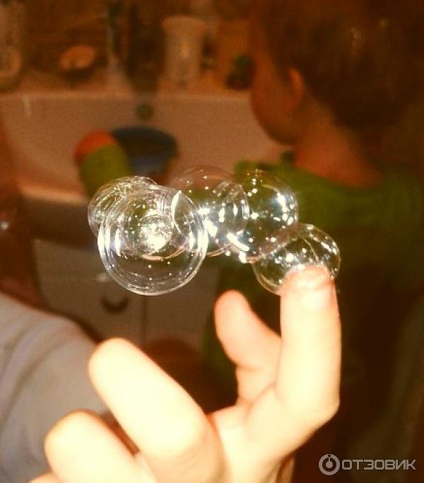 Нелопающиеся мыльные пузыри своими руками
