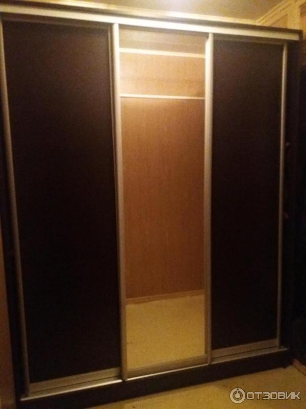 Шкаф купе рим 180 орхидея много мебели