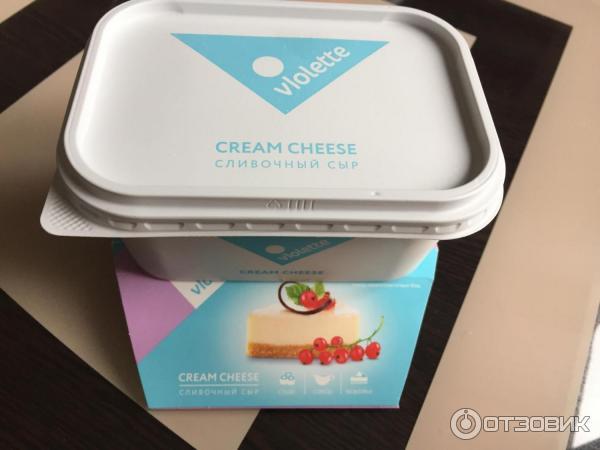 Сливочный сыр violette cream cheese купить