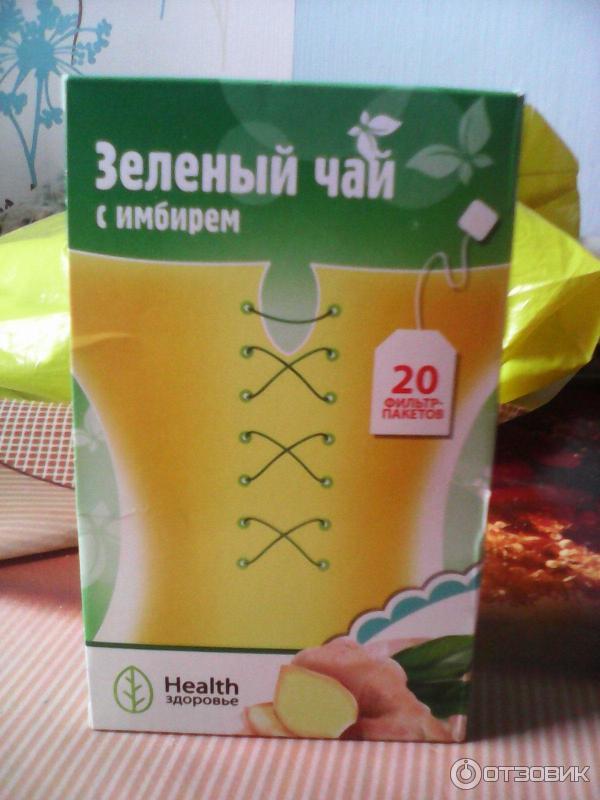 Свойства зелёного чая с имбирём