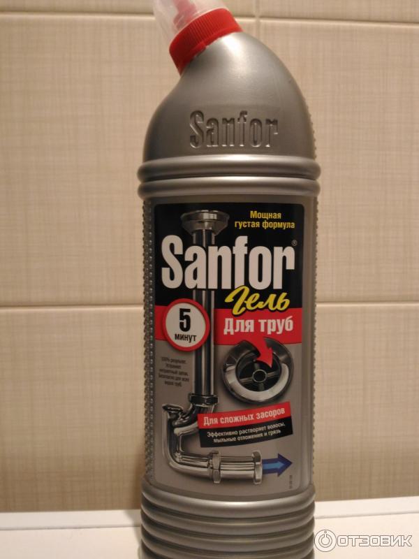 Жидкость для прочистки канализации своими руками