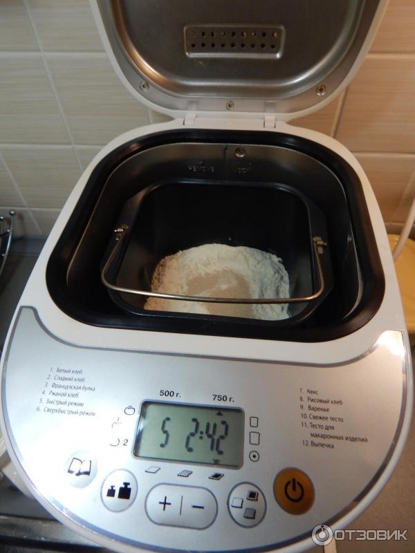 Рецепты для хлебопечек мистери
