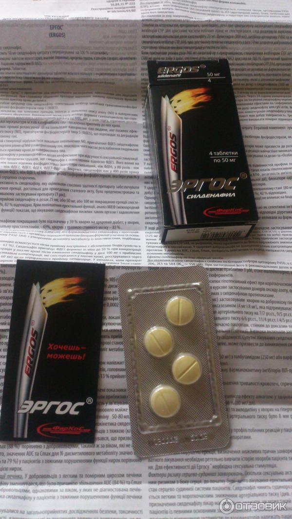 Эректильная дисфункция лечение таблетки отзывы