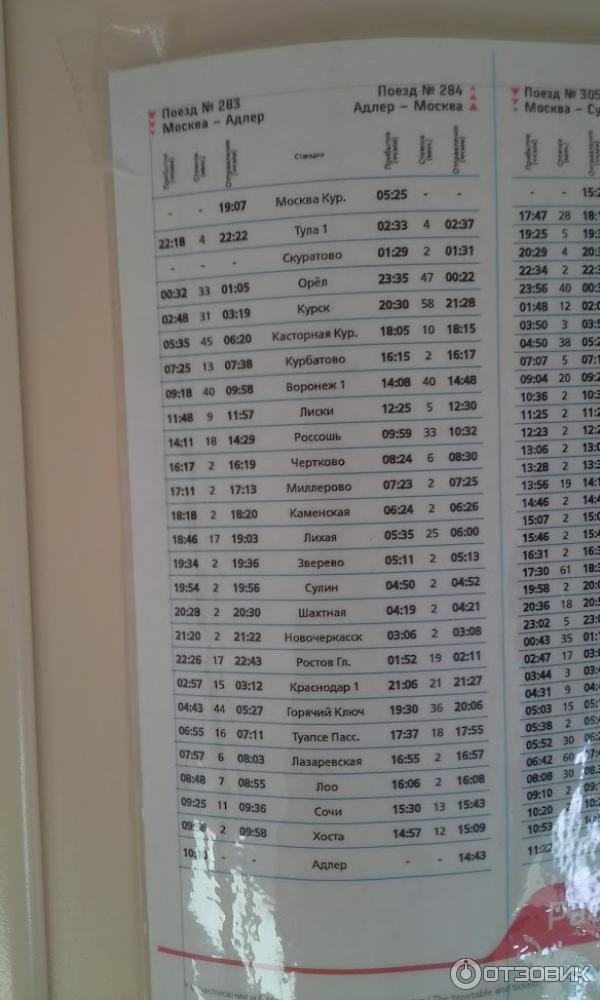 Ищите поезд адлер москва расписание 2017 цена билета проезда автомобиле общественном