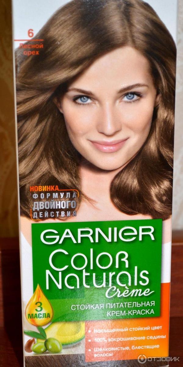 Краска цвета лесной орех волос