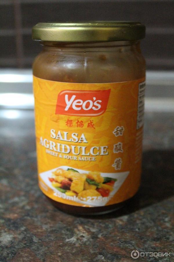 Кисло сладкий соус для свинины