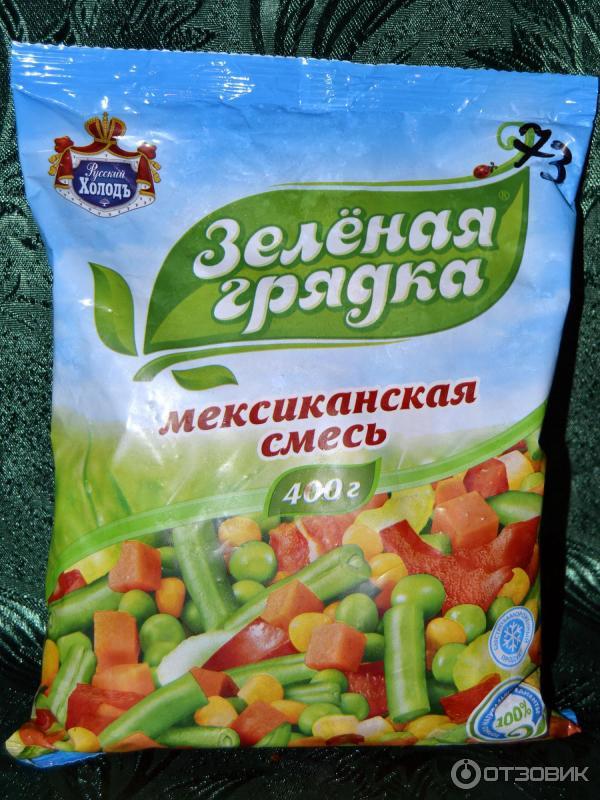 Замороженная овощная смесь своими руками 147
