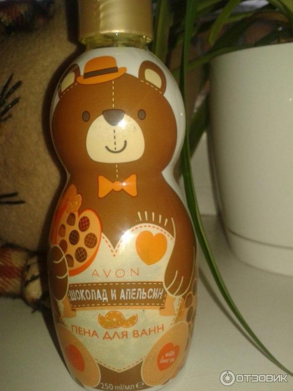 Пена для ванн шоколад и апельсин