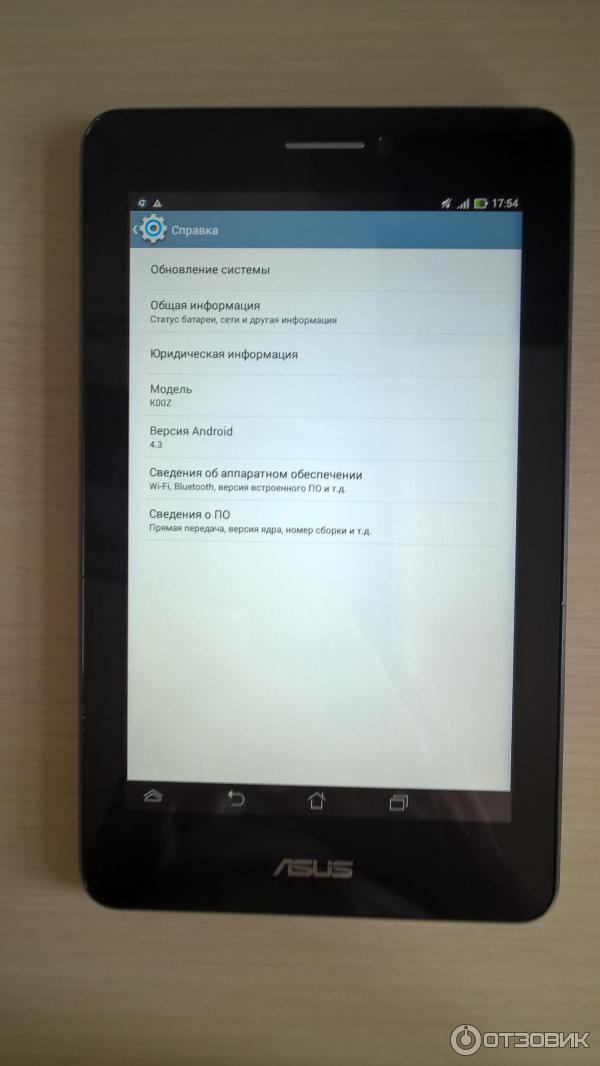 Отзыв о Интернет-планшет Asus fonepad 7 K00Z | Полное