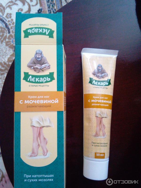 лекарь крем для ног фото