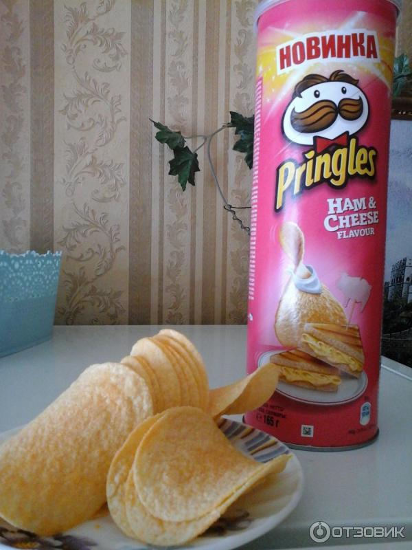 Как сделать из чипсов принглс