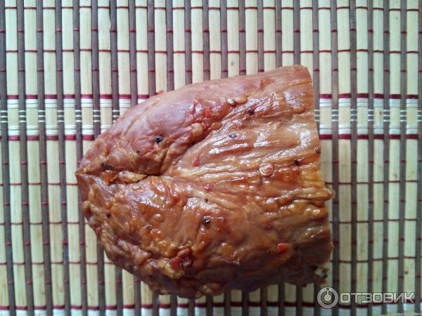 Копченый или копчено варенный деликатес