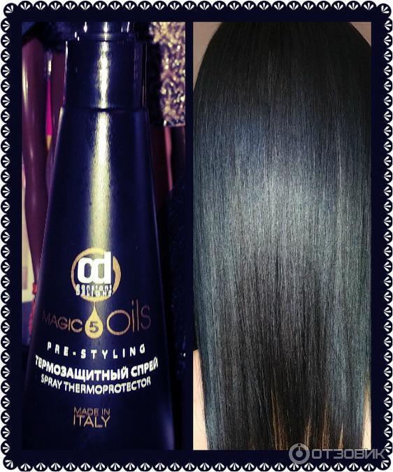 спрей для выпрямления волос термозащитный спрей