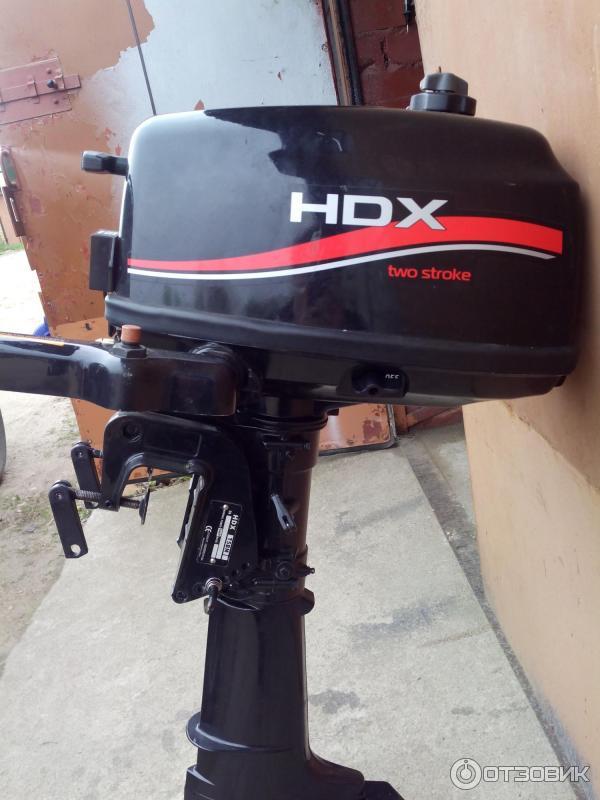 лодочный мотор hdx t5bms видео обзор